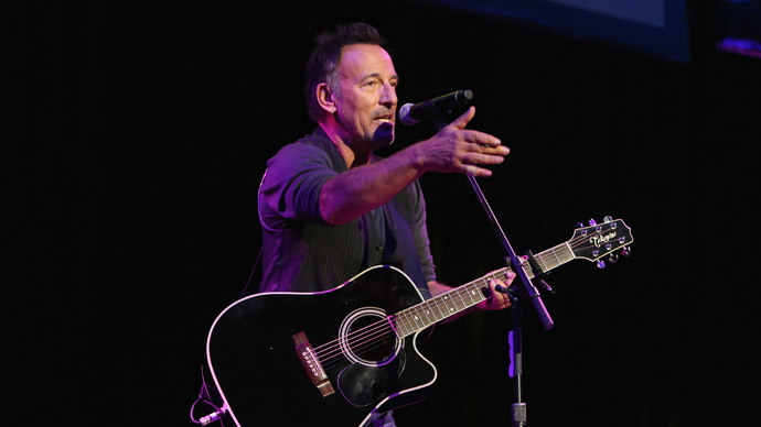 Bruce Springsteen.(AFP Photo / Monica Schipper)