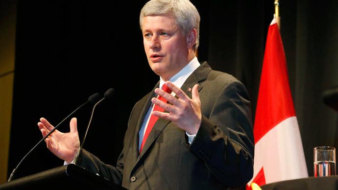 Stephen Harper Prime Minister of Canada.(Reuters / Nigel Marple)