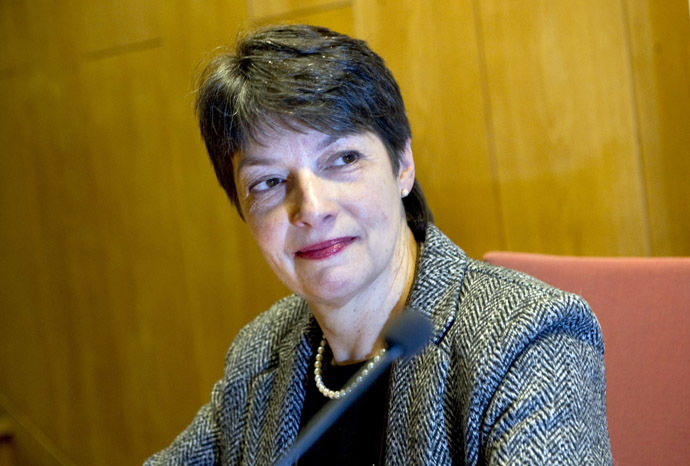 Head of the Swedish investigation in Julian Assange case, Chief prosecutor Marianne Ny (AFP/SCANPIX SWEDEN)