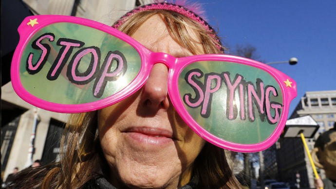 'US government prefers intimidating spy system'