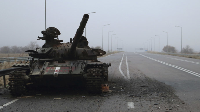 'West not interested in investigating in eastern Ukraine'