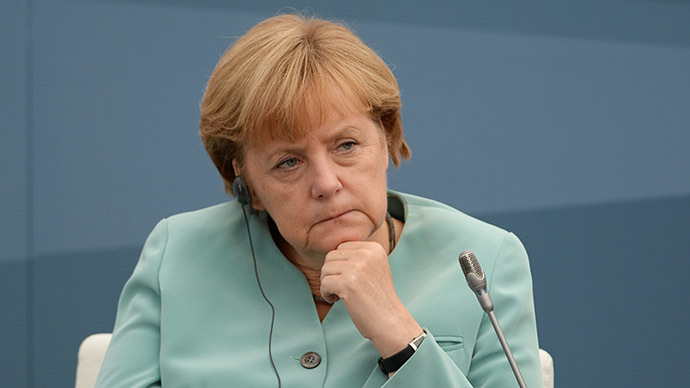 Federal Chancellor of the Federal Republic of Germany Angela Merkel (RIA Novosti/Alexey Filippov/Host Photo Agency)