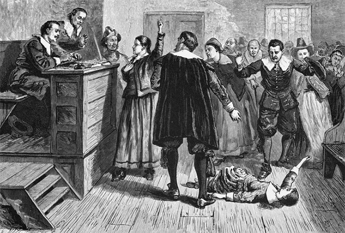 Salem witch trials (Image from wikipedia.org)