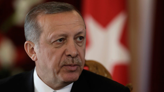 Turkish President Recep Tayyip Erdogan.(Reuters / Ints Kalnins)