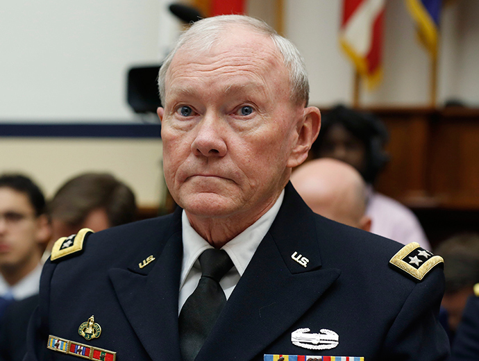 Chairman of the Joint Chiefs, U.S. Army General Martin Dempsey (Reuters / Larry Downing)