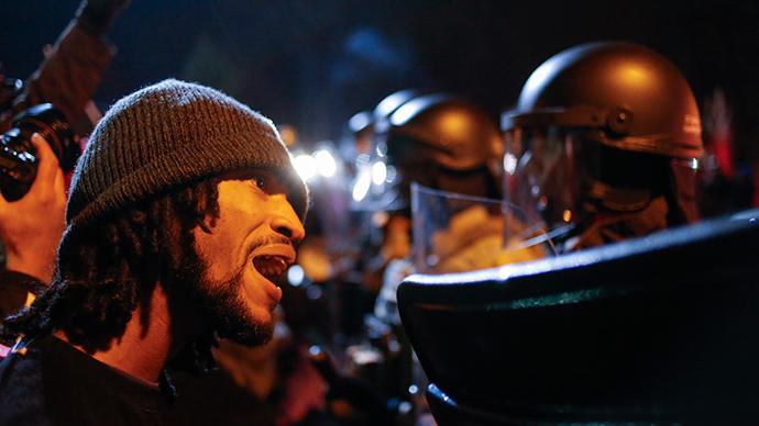'Ferguson riots – frustration at injustice'