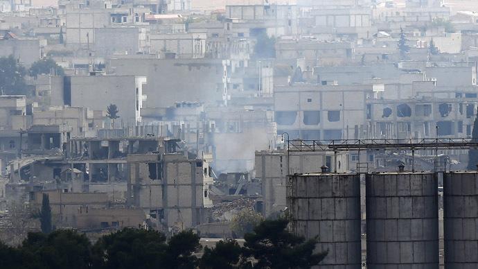 'Kobani- battle between good and evil'