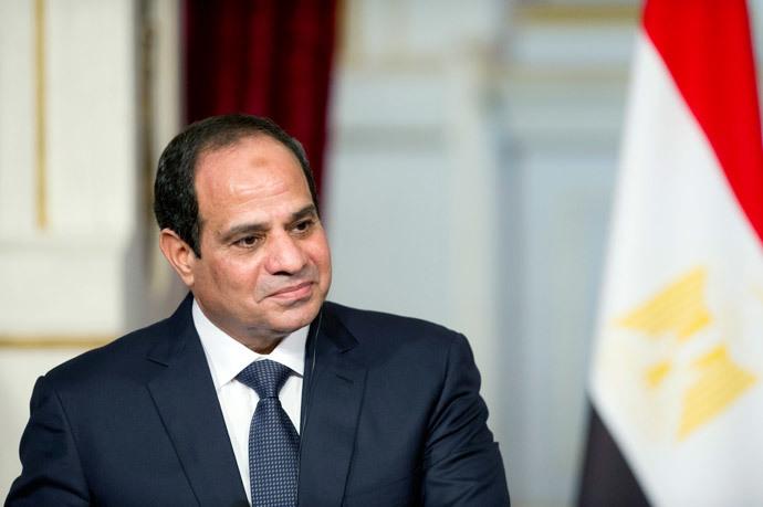 Egyptian President Abdel-Fattah al-Sisi (AFP Photo / Alain Jocard)