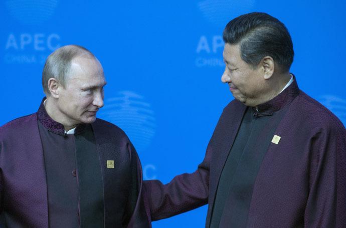 ussian President Vladimir Putin and Chinese President Xi Jinping (RIA Novosti)