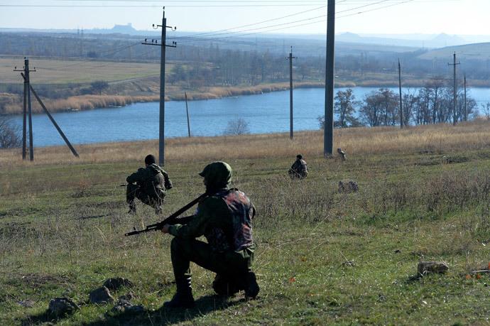 Self-defense fighters of the Donetsk People's Republic (RIA Novosti / Alexey Kudenko)