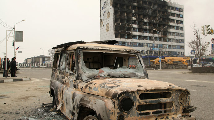 Chechen attack: 'terrorists get weapons from abroad, linked to Mideast groups'