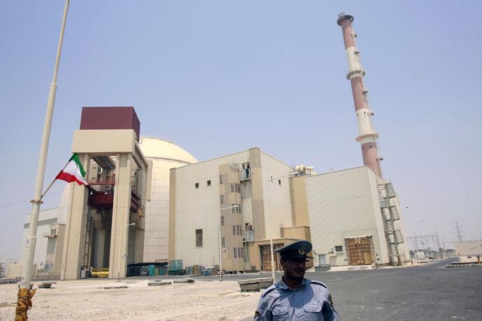 Bushehr nuclear reactor, 1,200 km (746 miles) south of Tehran (Reuters)