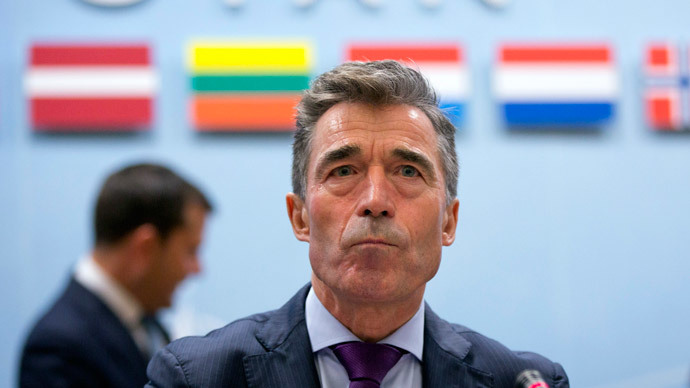 NATO Secretary General Anders Fogh Rasmussen.(Reuters / Virginia Mayo)