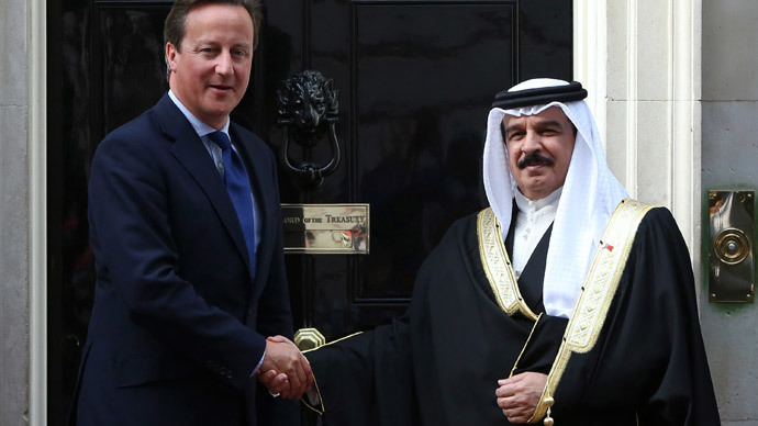 'UK base in Bahrain is not about stability, but greater role in the region'