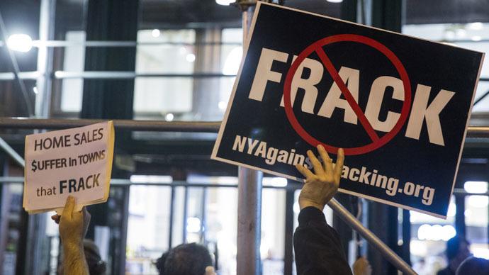 US media in propaganda war with global anti-fracking activism