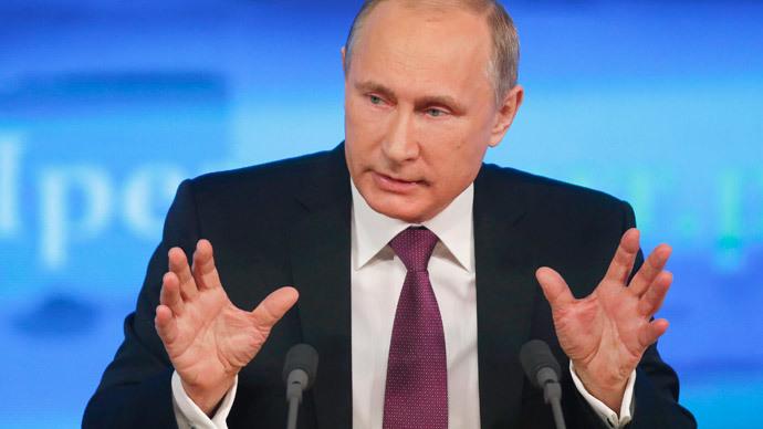Russian President Vladimir Putin.(Reuters / Maxim Zmeyev )