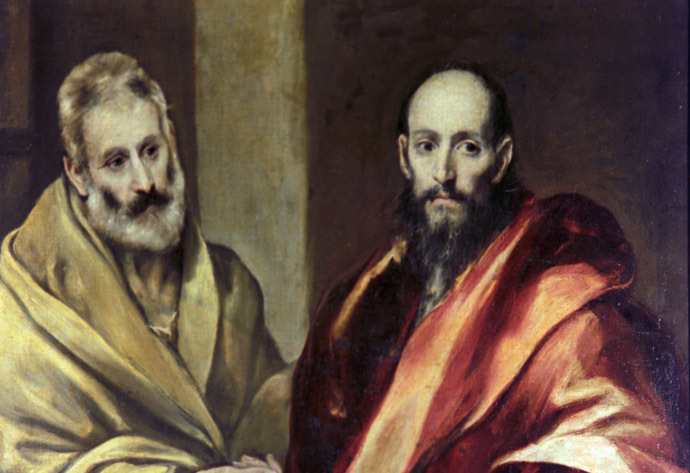 "El Greco. ""Sts. Peter and Paul"". State Hermitage Museum, St. Petersburg (RIA Novosti)"