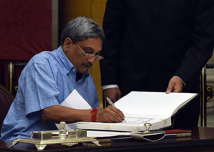 Manohar Parrikar (AFP Photo)