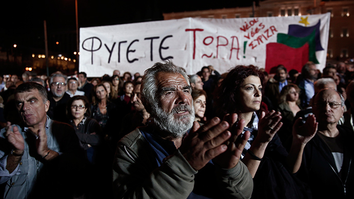 'Cold War kind of propaganda' launched in Greece as leftist party gains popularity