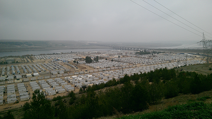 Nizip camp in the Gaziantep Province (Image by Nadezhda Kevorkova)