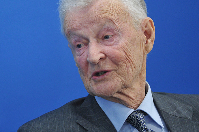 Zbigniew Brzezinski, former US national security advisor. (AFP Photo/Mandel Ngan)