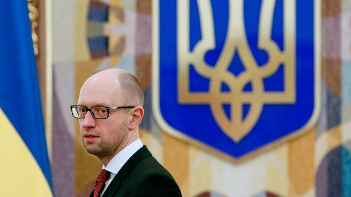 Ukraine's Prime Minister Arseny Yatsenyuk.(Reuters / Valentyn Ogirenko)