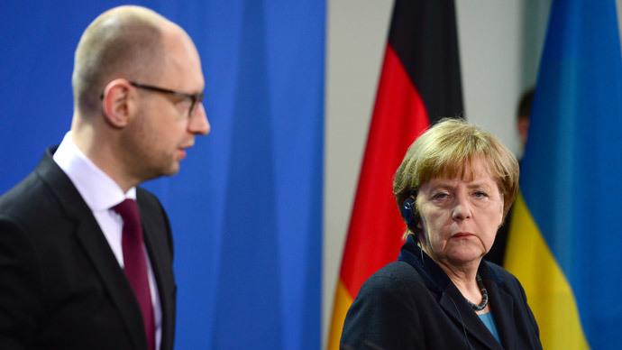 'Soviets invading Germany, Ukraine:' Berlin faces tough choice on PM Yatsenyuk's WW2 take