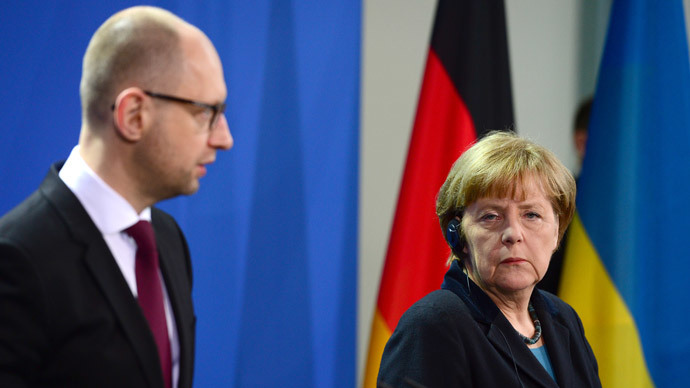 ​'Soviets invading Germany, Ukraine:' Berlin faces tough choice on PM Yatsenyuk's WW2 take