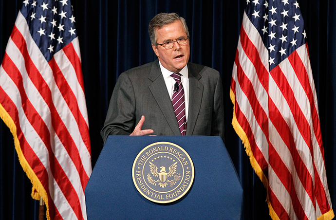 Former Governor of Florida Jeb Bush (Reuters / Mario Anzuoni)