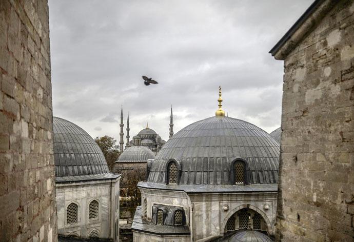 AFP Photo/Bulent Kilic