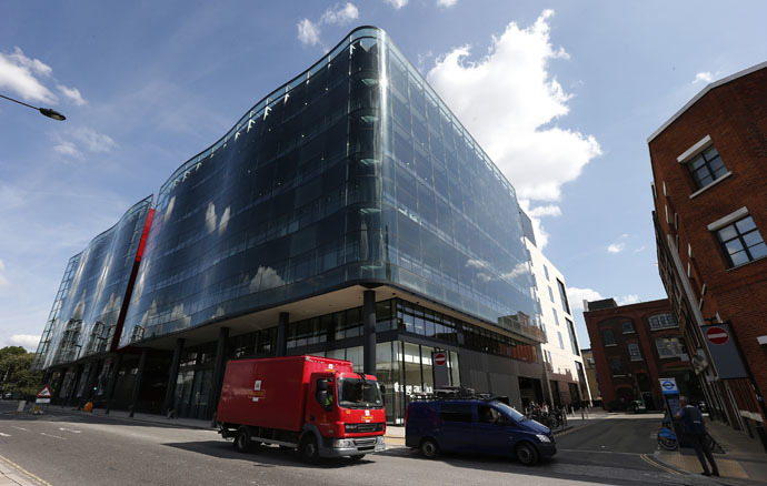 Headquarters of the Guardian newspaper in Kings Place, London (Reuters)