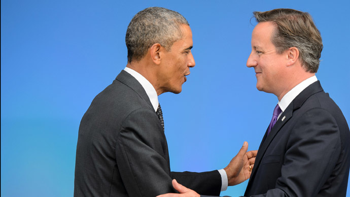 'Britain still US cat's paw getting nothing in return'
