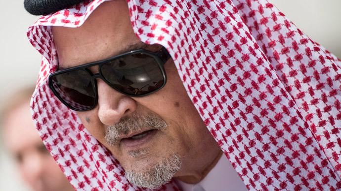 Saudi Arabia's Foreign Minister Prince Saud al-Faisal.(Reuters / Brendan Smialowski)