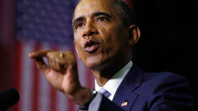 U.S. President Barack Obam.(Reuters / Kevin Lamarque)