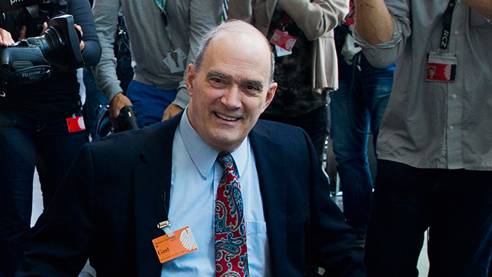 Former technical director of the National Security Agency (NSA) William Binney (Reuters / Thomas Peter)