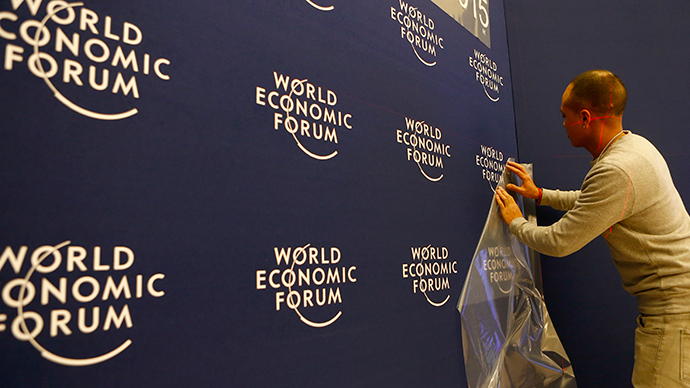 Davos: The blob's big day out