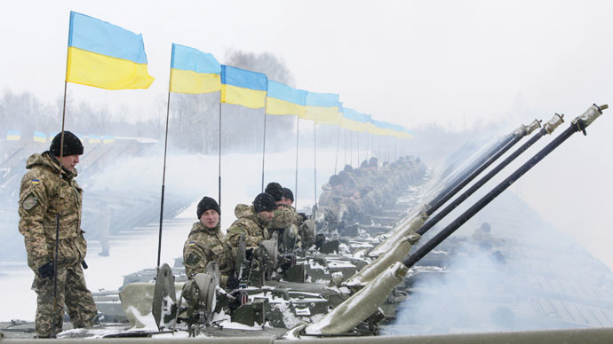 'No coincidence in Kiev offensive and visit of US officials'