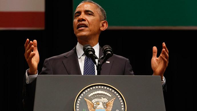 U.S. President Barack Obama.(Reuters / Jim Bourg)