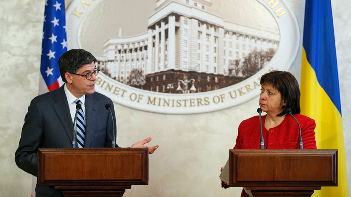 'US seeks to swallow Ukraine to exploit resources, bring it into NATO'
