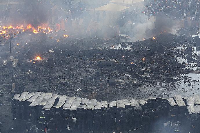 Kiev, February 19, 2014 (Reuters / Olga Yakimovich)