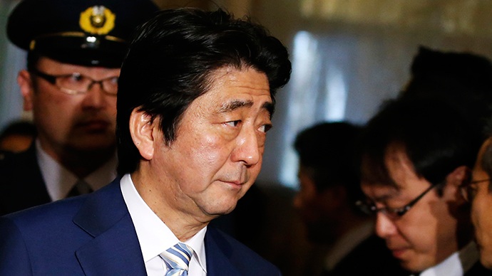 Japanese hostages' beheading by ISIS 'almost Christmas present for Abe govt'
