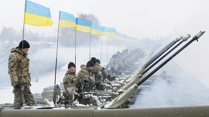'NATO expansion behind Ukraine civil war'