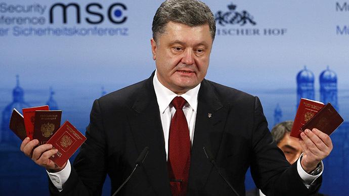 'Political comedy': Poroshenko's 'Russian army evidence' raises eyebrows