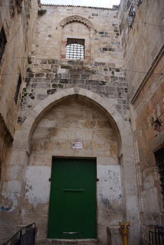 To get to the Small Wailing Wall one needs to pass the gates of the Al-Aqsa Mosque. (Photo by Nadezhda Kevorkova)