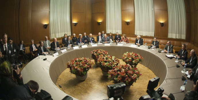 P5+1 Talks With Iran in Geneva, Switzerland (Image from Flickr.com/U.S. Department of State)