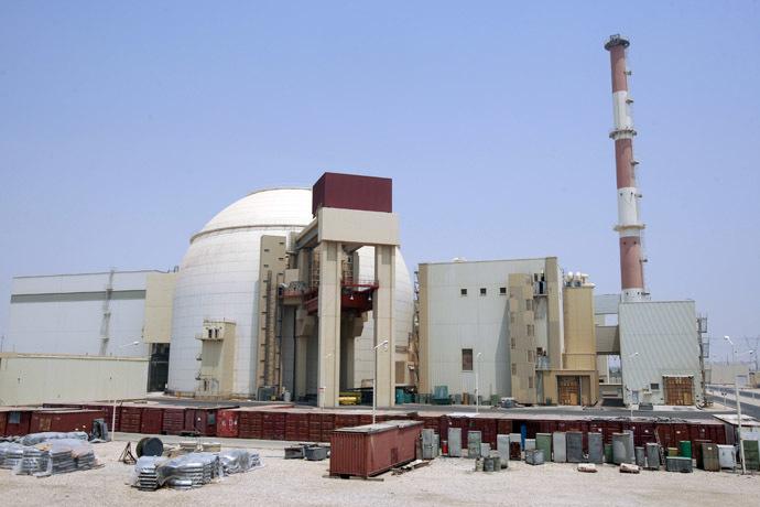 A general view of the Bushehr main nuclear reactor. (Reuters/Raheb Homavandi)