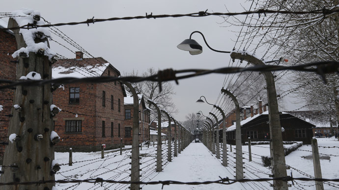 Picture shows a general view of the former Nazi German concentration and extermination camp Auschwitz in Oswiecim January 26, 2015. (Reuters/Laszlo Balogh)