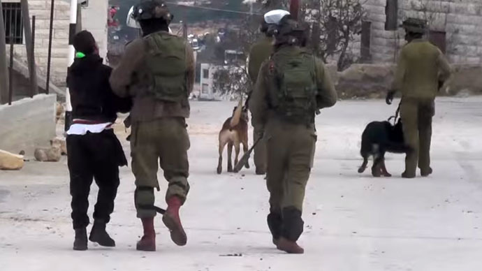 'IDF use dogs as weapon to terrify Palestinians'