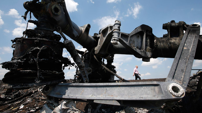 'War lobby uses MH17 tragedy to demonize Russia'
