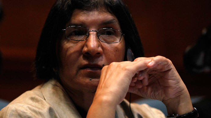 U.N. Special Rapporteur on Violence Against Women Rashida Manjoo.(Reuters / Carlos Jasso)